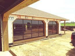 residential glass garage door