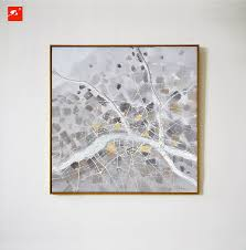 >2016 simple grey nordic naturism abstract wall art oil painting on  2016 simple grey nordic naturism abstract wall art oil painting on canvas prints pebble gray for
