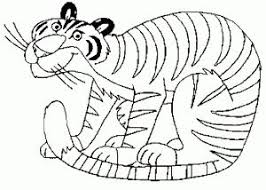 Small Picture 13 best Tiger Coloring Pages images on Pinterest Coloring pages