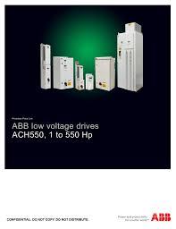 Ach550 Technical Catalog Manualzz Com