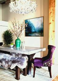 glamorous dining room with chandelier color ideas for fall s