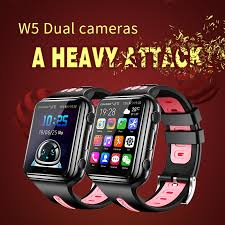 696 <b>H1</b>/<b>W5</b> 4G GPS Wifi location Student/Kids Smart Watch Phone ...