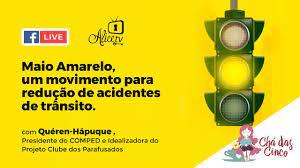 Clube da Alice - Maio Amarelo é o tema de hoje no Chá das Cinco, um  movimento para redução de acidentes de trânsito.