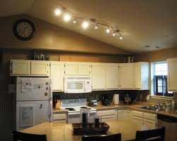 image of flexible track lighting kitchen ideas