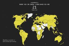 In Every Age Map Shows World Thrillist - For Legal The Drinking Country This