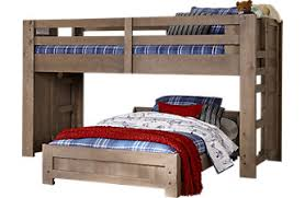 bedroom furniture bunk beds. montana driftwood twintwin jr loft bed bedroom furniture bunk beds
