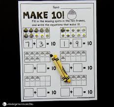 Free St. Patrick's Day Make 10 Worksheets