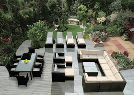 Sofas  Fabulous All Weather Wicker Furniture Outdoor Patio Outdoor Patio Furniture Sectionals