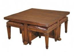 table with stools. coffee tables with stools underneath   square table i