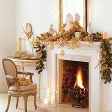 Fireplace Mantel Holiday Decorations
