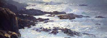 william frederick ritschel our dream coast of monterey aka glorious pacific detail private collection courtesy of the irvine museum