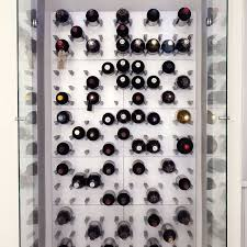 Captivating Vinowall 12 Bottle Wall Mounted Wine Rack   Red ...