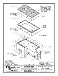 Product spec sheet 3'x6′ pull box 3314 sdg e diagram zoom image