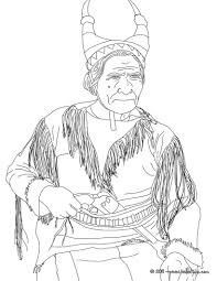 Small Picture Sitting bull coloring pages Hellokidscom