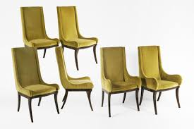 set 6 dining chairs. mastercraft dining chairs, set of 6, usa c.1970. loading zoom 6 chairs s