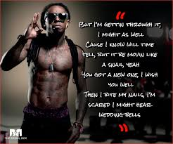 Rap Quotes About Love Awesome Lil Wayne Love Quotes 48 Love Lyrics From The Rap Phenom