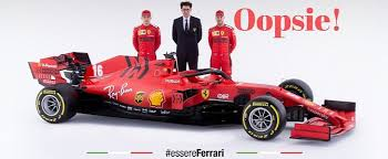 Bright red cars displaying the ferrari logo: Ferrari Is In Legal Trouble Over 2020 Formula 1 Car Just Days After Launching It Autoevolution