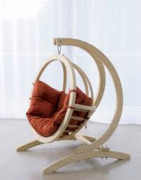 Wooden Hanging Chair For Bedroom