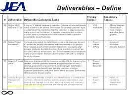 X Deliverables Template Free – Akronteach.info