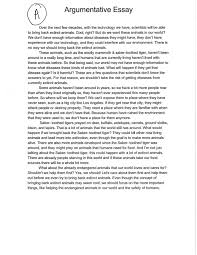 sample of argument essay co sample of argument essay