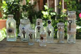 Decorating Old Bottles decorating with old tool box with bottles AOL Image Search Results 2