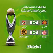 بالمواعيد | مواجهات نصف نهائي دوري أبطال إفريقيا 2021 - بطولات