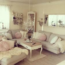 shabby chic living room furniture. Low Hung Chandelier. In Place Of Sconces? 37 Enchanted Shabby Chic Living Room Designs Furniture