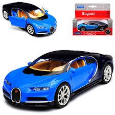 1 36 autobot bugatti speelgoed auto kinderen model mini auto. Bugatti Chiron Coupe Blau Ab 2016 Ca 1 43 1 36 1 46 Welly Modell Auto Mit Oder