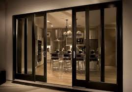 why must you never install the sliding doors yourself