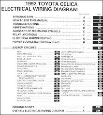 toyota celica wiring diagram wiring diagrams hazard lights and horn do not work on 1992 toyota celica
