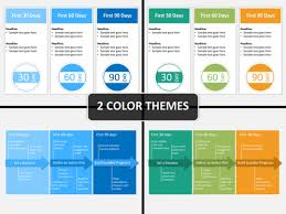 Business Plan In Powerpoint 30 60 90 Day Plan Powerpoint Template Powerpoint Templates