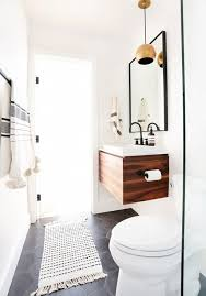 Stylish Small Bathroom With Lighting Ideas
