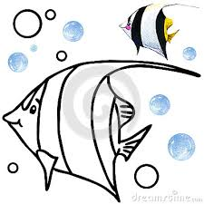 coral reef fish drawing. Delighful Fish Coral Reef Fish Drawing  Photo6 In Reef Fish Drawing O