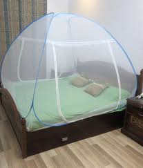Healthgenie Double Bed Mosquito Net (blue) ...