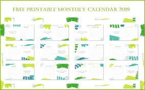 free printable 2019 monthly calendar free printable monthly calendar 2019 calendar 2019