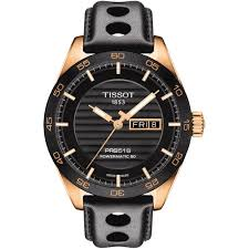 men s tissot t100 430 36 051 00 watch francis gaye jewellers tissot men s rose gold prs 516 powermatic day date watch t100 430 36 051 00
