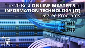 computer tech degree the 20 best online masters of information technology it degree