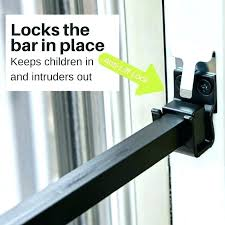 sliding door lock bar patio door security lock awesome patio door lock bar for patio door sliding door lock bar door security