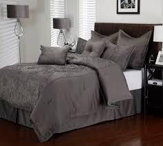 Light Gray Comforter Set Queen Contemporary Charcoal Grey Comforter Set Light Gray Dark