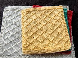 Knit Dishcloth Pattern Amazing Dishcloth 48 Diamond Brocade Knitting Unlimited