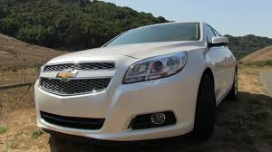 2013 Chevrolet Malibu Turbo First Drive Review - YouTube