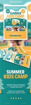 best ideas about flyer design graphic design summer kids camp