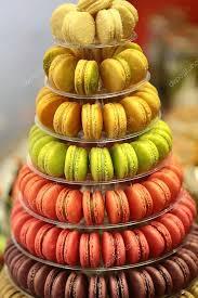 French Macaron Display Stand Adorable French Macarons On Cake Stand Stock Photo © Tverdohlib 32