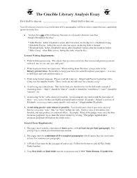 Best Essay Example Literary Essay Format Literary Essay Format