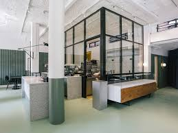 T Bar Chunky Double Glazed Industrial Style Glass Partitioning