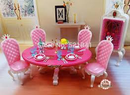 make barbie doll furniture. Barbie Doll Furniture Free Shipping Pink Table Chairs Accessories For Toys In . Make