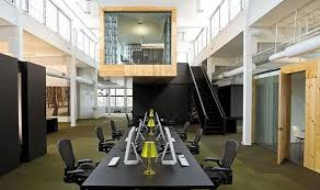 office design architecture. skylab architecture office design for north color scheme dark wood tables natural accents lime green pop new inspirations pinterest s