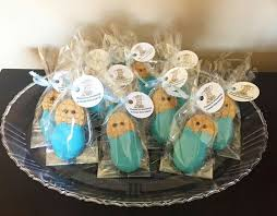 little peanut nutter er baby shower favors elephant theme