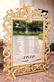 Scope Seating Chart A Fabulous Take On A Seating Chart For A Gold Black And