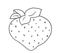 Disegni Di Frutta Per I Lavoretti Con I Bambini Stampa E Colora